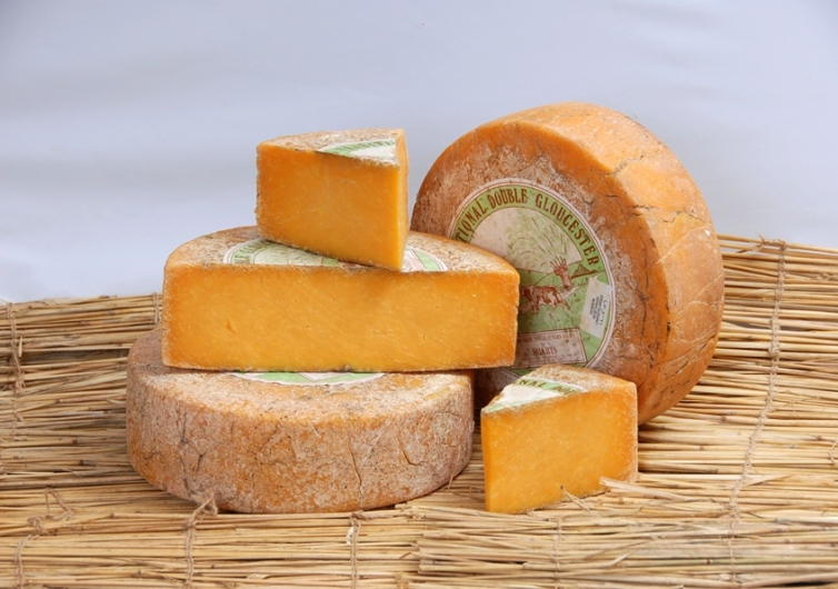 Double Gloucester cheese . Foto № 1